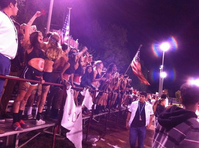 Friday night lights: Annandale VS. Falls Church