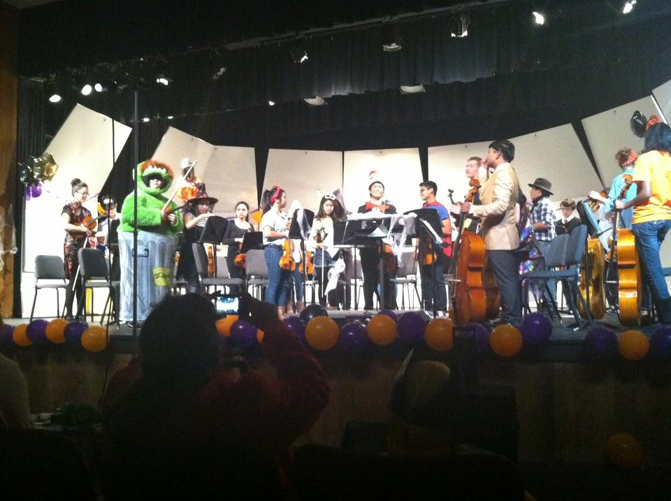 Orchestra holds annual masquerade