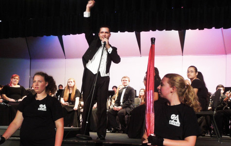 Symphonic band held first fall concert