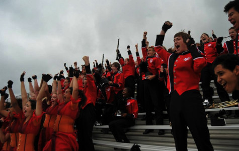 The Marching Atoms celebrated their superior score at their annual state assessment.