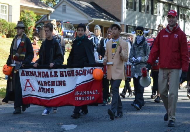 Halloween Parade in Wakefield Chapel