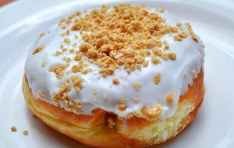 Dunkin Donut's Pumpkin Pie Donut is a fall favorite