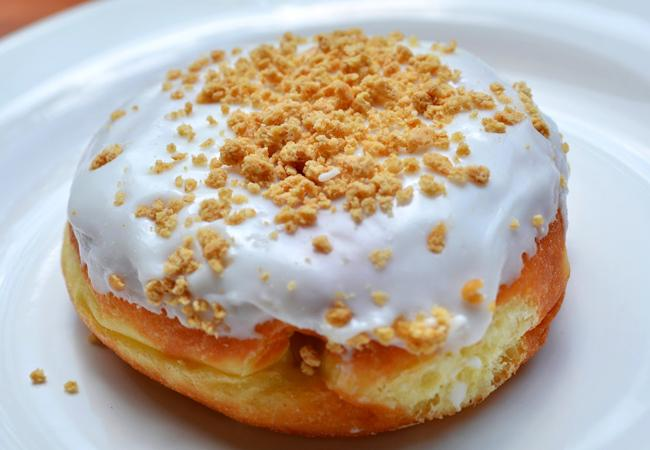 Dunkin+Donut%27s+Pumpkin+Pie+Donut+is+a+fall+favorite