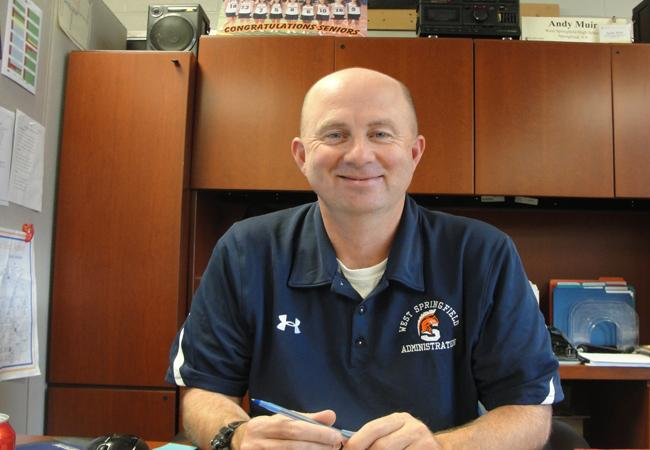 Q & A with Andy Muir, Director of Student Activities at West Springfield HS