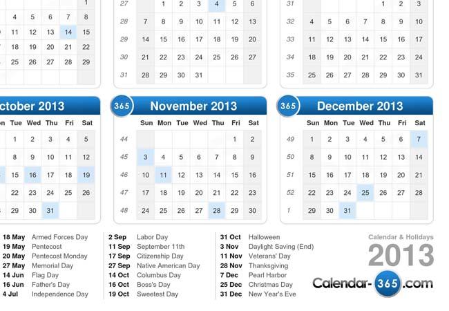 Use a calendar to help organize your life.