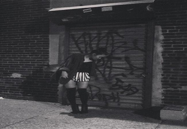 Pathammavong on a New York City stroll.