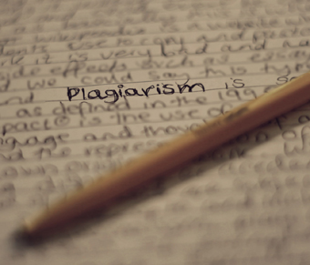 Who does plagiarism benefit