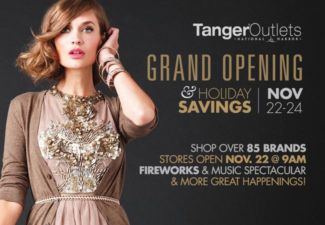 Tanger Outlets Grand Opening