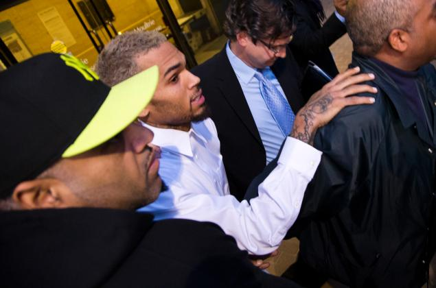 Chris Brown's run in with the law
