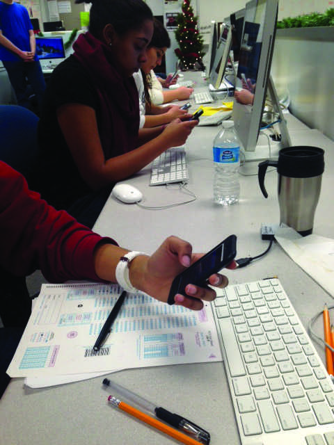 Survey shows that students depend heavily on technology