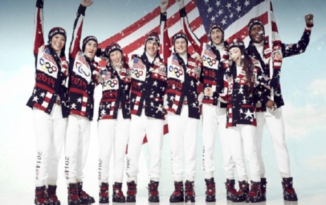 A mix of patriotism and holiday sweaters,  uniforms for Team USA are designed by Ralph Lauren.