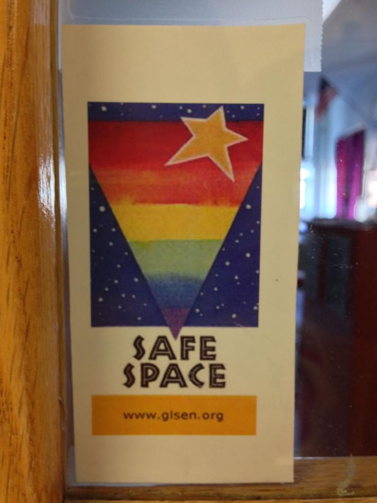 Safe Space Stickers Fill Of Halls The A Blast