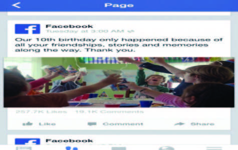 Despite celebrating its tenth anniversary, Facebook's prominence is diminishing among younger users.