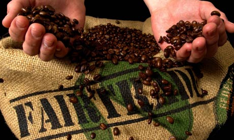 Fair trade allows farmers in developing countries get more money for their products.