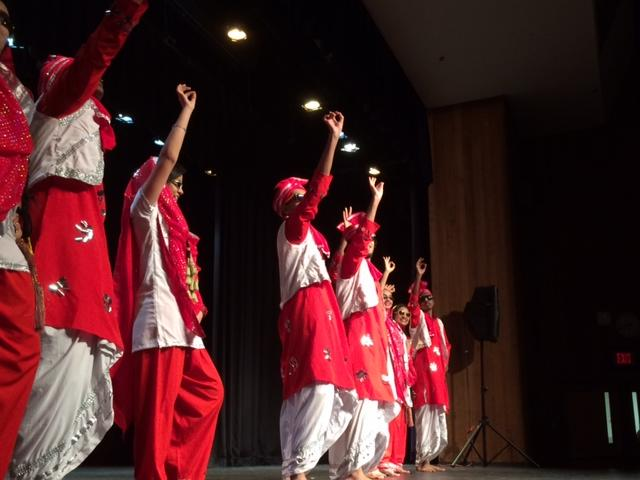 The South Asian Student Association performed this dance at Heritage Night.