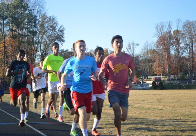 Track runners ready for the season