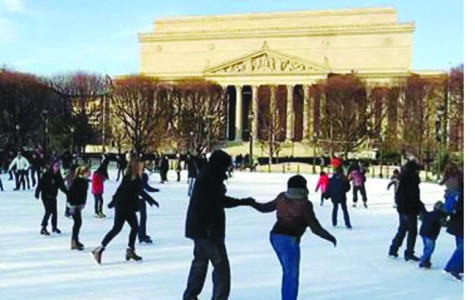 Take part in another holiday tradition in our Nation's Capital. You and your friends can take a day trip out to the district for the day and ice skate in front of the National Gallery of Art. The outside rink is open until March 16, so you have plenty of time to plan your ice skating trip. Admission is $8 for adults and $7 for students, children and senior citizens. If you don't have ice skates, don't worry, you can rent a pair for $3. The rink is open on weekdays from 10 a.m. to 9 p.m., Friday through Saturday from 10 a.m. to 11 p.m. and on Sunday from 11 a.m. to 9 p.m. Don't miss your chance to fulfill your winter bucket list. Get out there and skate your butt off.