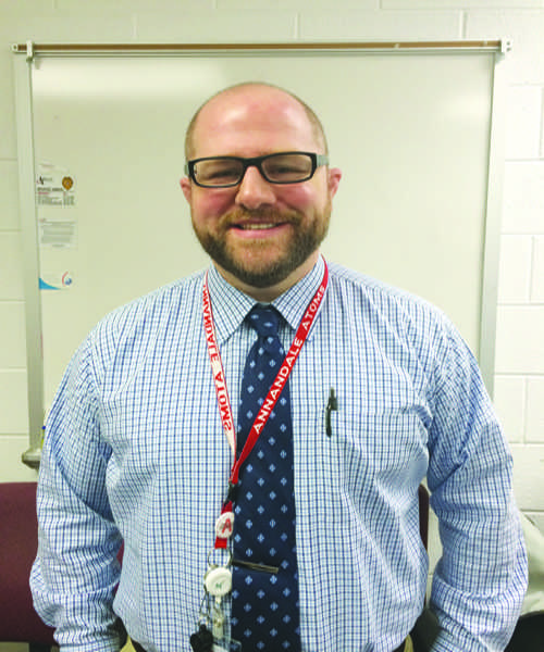 AHS welcomes new Assistant Principal Brian Olmes