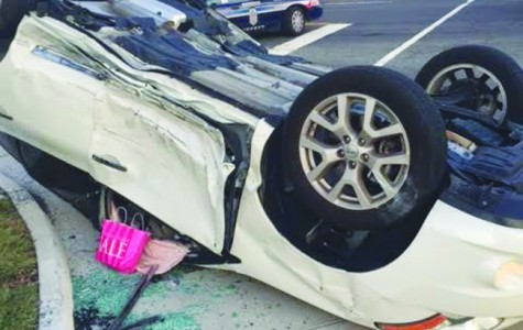 Teacher survives car crash with no serious injuries