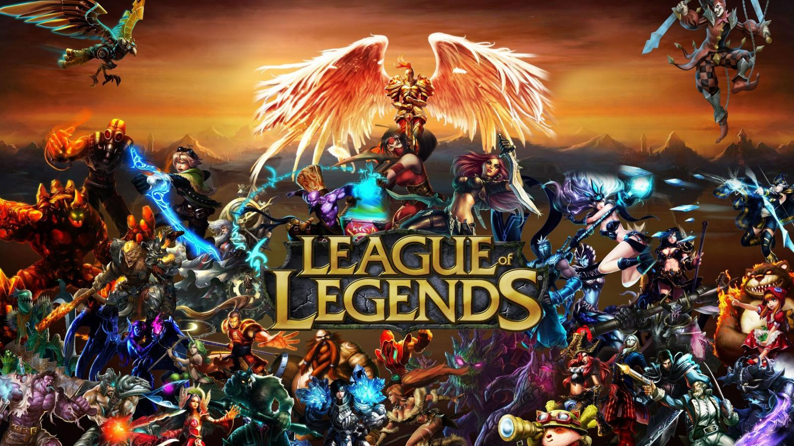 The cover for League of Legends.
