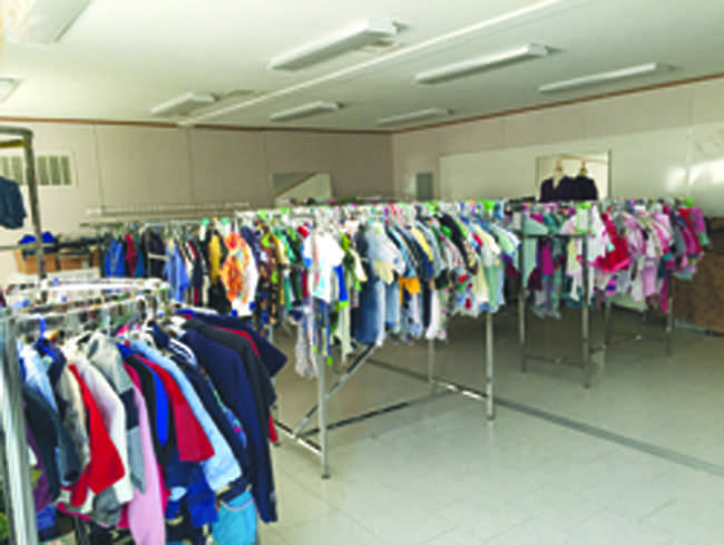 My Friend's Closet is an organization that provides a place to find donated clothing in the Annandale Community. It is set up like a boutique and arranged by different categories.
