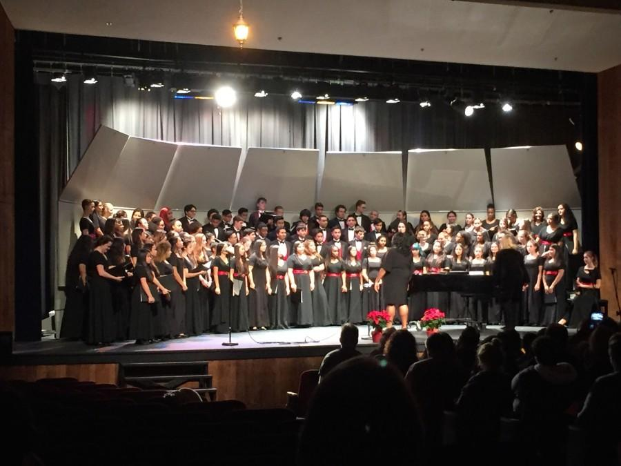 Chorus holds winter concert