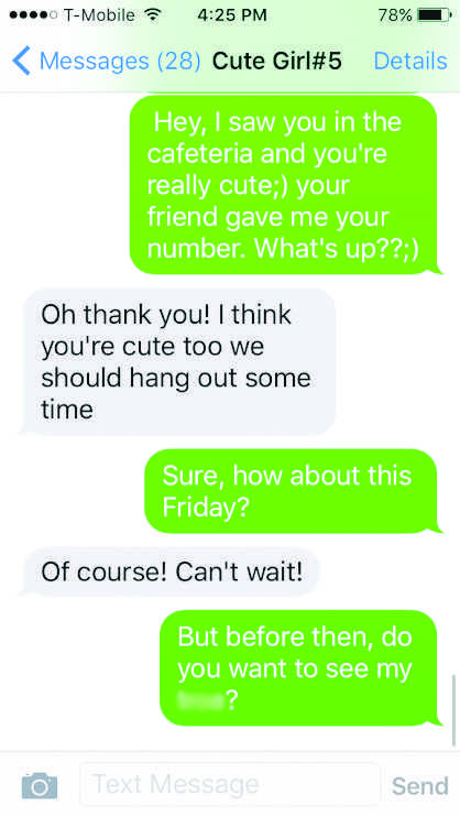 How to ease a girl into sexting