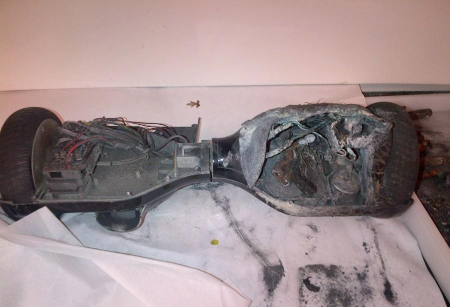 Hoverboards have been blowing up while on their charging stations.