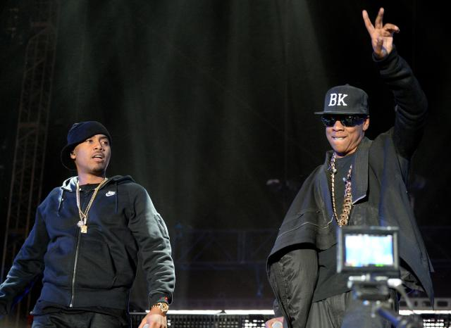 Jay+Z+performs+with+Nas+onstage+during+day+2+of+the+2014+Coachella+Valley+Music++Arts+Festival+at+the+Empire+Polo+Club+on+April+12%2C+2014+in+Indio%2C+California.
