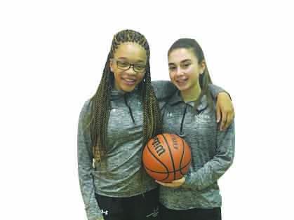 Freshmen students start on varsity girls basketball