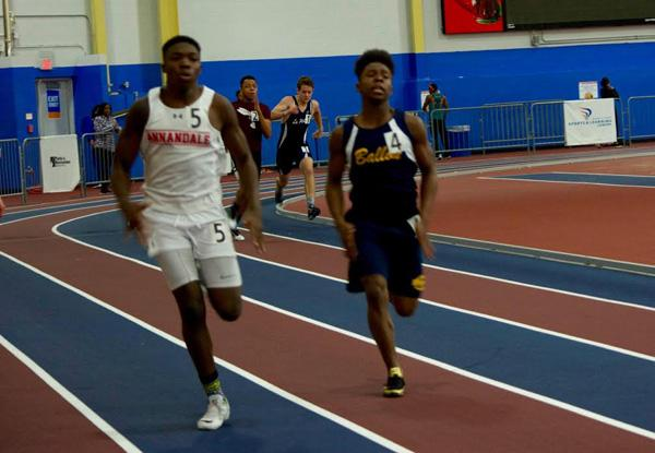 Boys track moving steadily