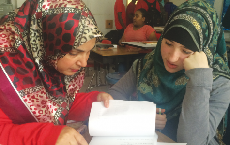 Arabic teacher Ola Layaly bonds with her students over shared traditions, religion and background.