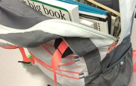 Don't overflow your backpack with too many binders or textbooks. The weight may create a drag on your shoulders and having to readjust your backpack every 10 minutes is annoying.