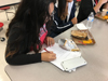 It is common for students to rush to finish their lunch in order to have more time to do homework.