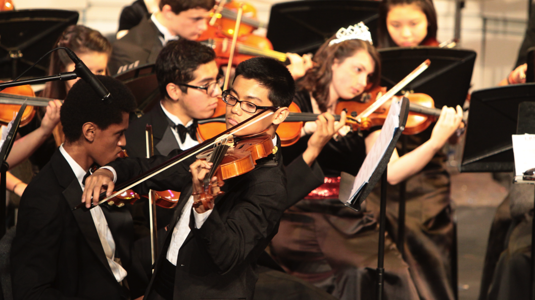 Students are rushing to choose what classes, especially electives by Jan. 22. Orchestra, pictured above, is one popular pick for students.