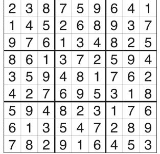 Sudoku Answer Key, Issue 5