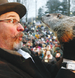 Groundhog's Day was made popular in the 1993 film with the same title.