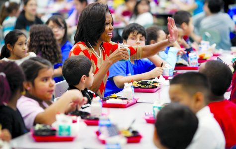 Michelle Obama made health in school children a priority as a part of her goals as First Lady.