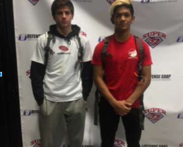 Senior Allen Kokilananda attends Super 32