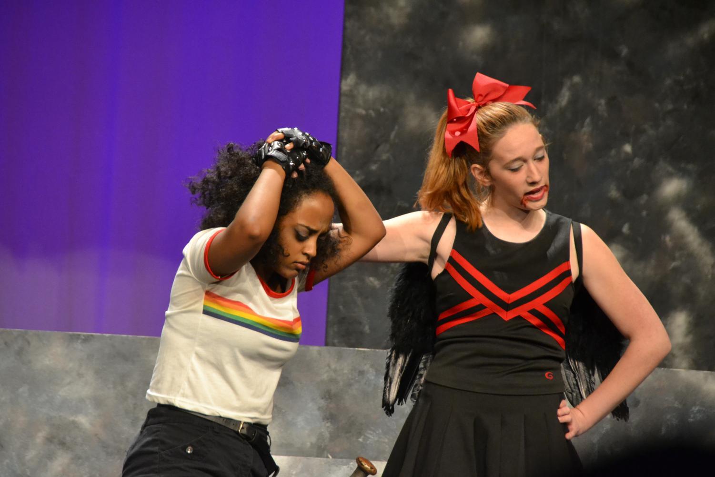 Tina%2C+the+evil+cheerleader+assaults+Agnes+as+a+way+to+scare+Tillius.
