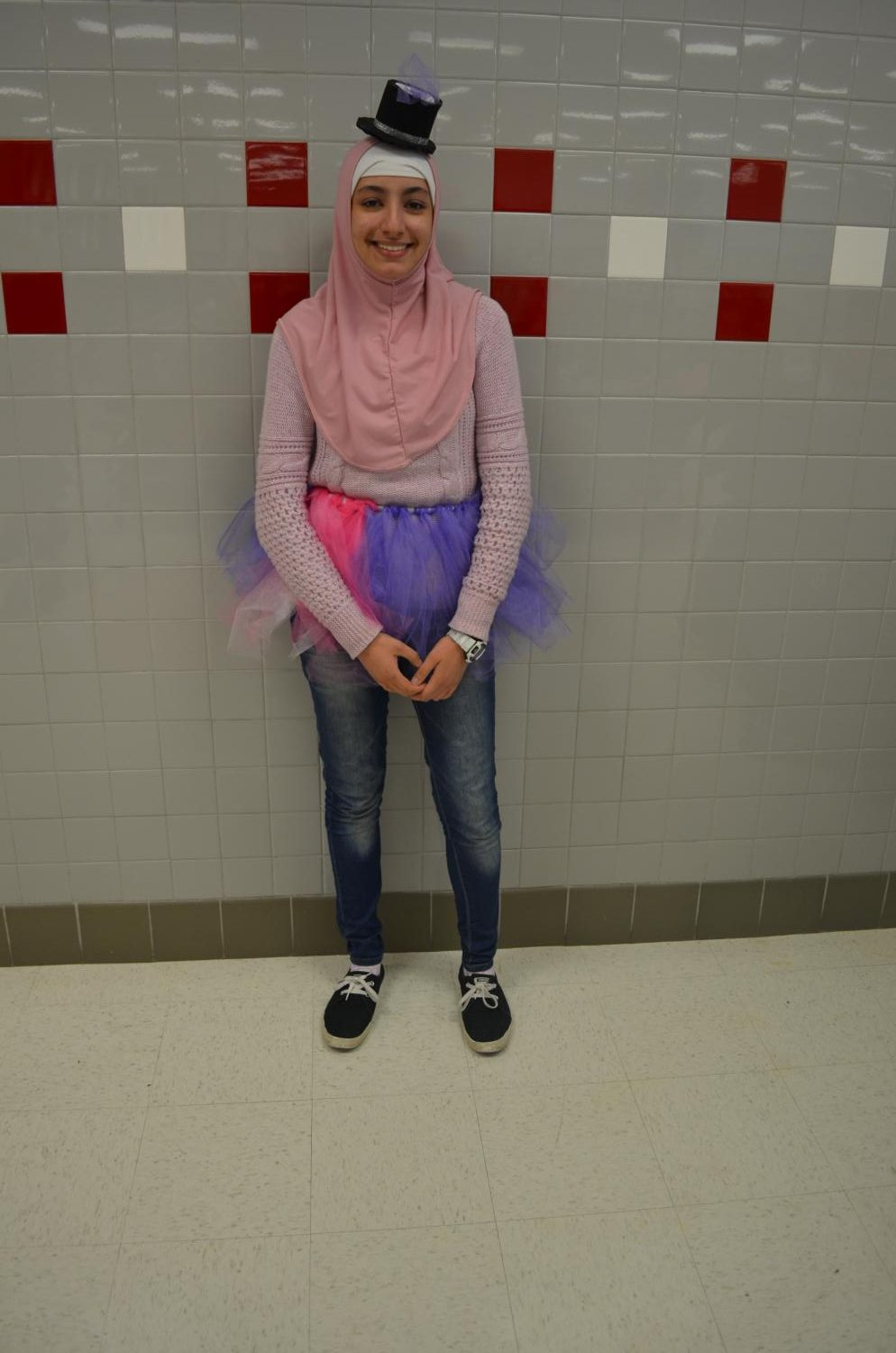 Sophomore+Kani+Khaled+dresses+up+as+a+My+Little+Pony+character%2C+Twilight+Sparkle.