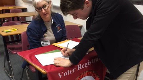 The Office of Elections has attempted to reach out to eligible students to vote.