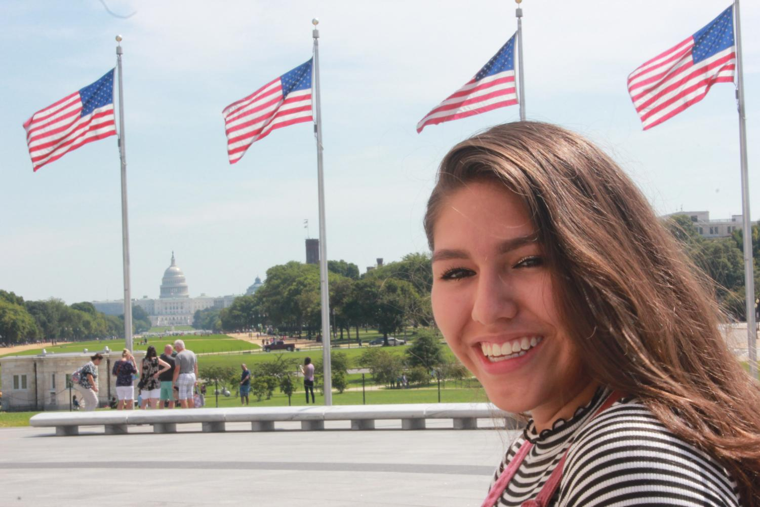 Senior Nicolle Uria will be U.S. Congressman Gerry Connolly's guest to the President's State of the Union on Jan. 31. She will be representing herself and the reported 800,000 DACA recepients.
