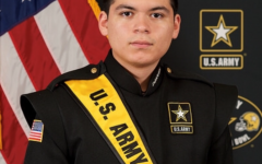 Senior Angel Estrada talks about experience with US Army All-American Marching Band