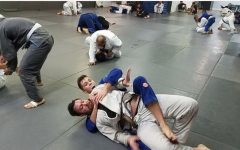 Student competes in martial arts