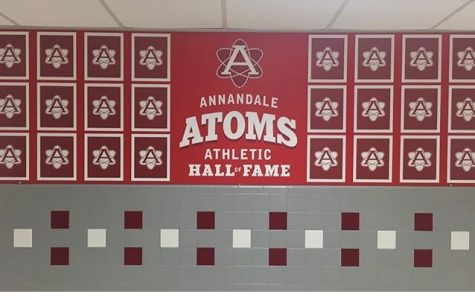 The Atoms athletic hall of fame will be posted in the jock-lobby and will feature names and pictures of the inductees for the 2018 class.