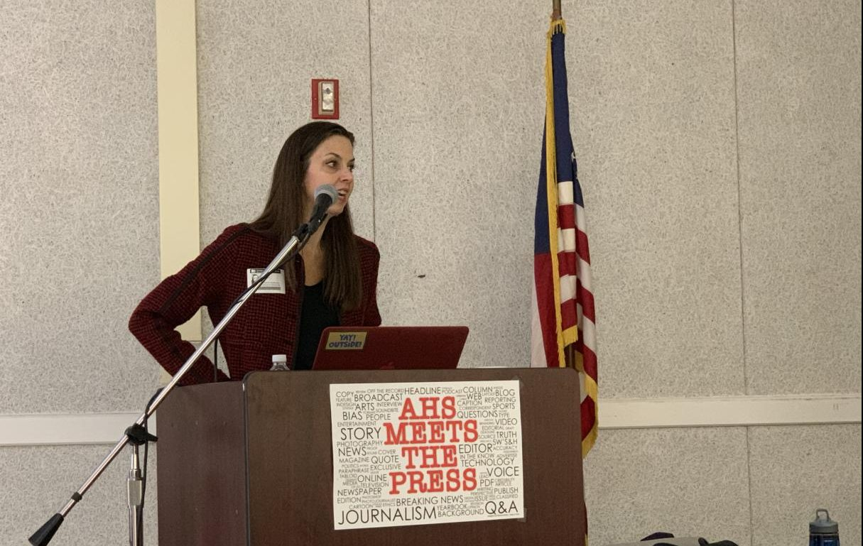An award-winning journalist and best-selling author, Kennedy spoke at the event on Oct. 22.