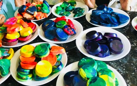 Mission Possible makes crayons for INOVA