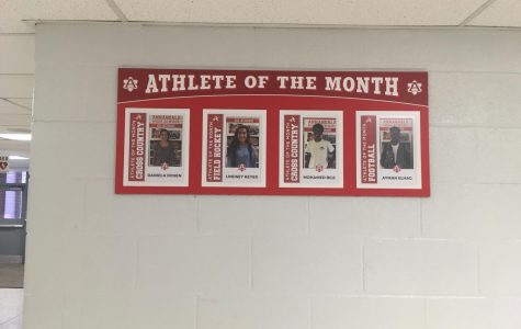 Athletes of the Month added to jock lobby