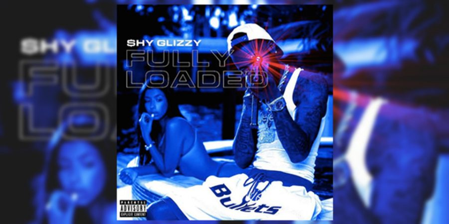 Shy+Glizzy+represents+his+home+town+of+Washington+D.C.+with+vintage+Washington+Bullets+shorts.